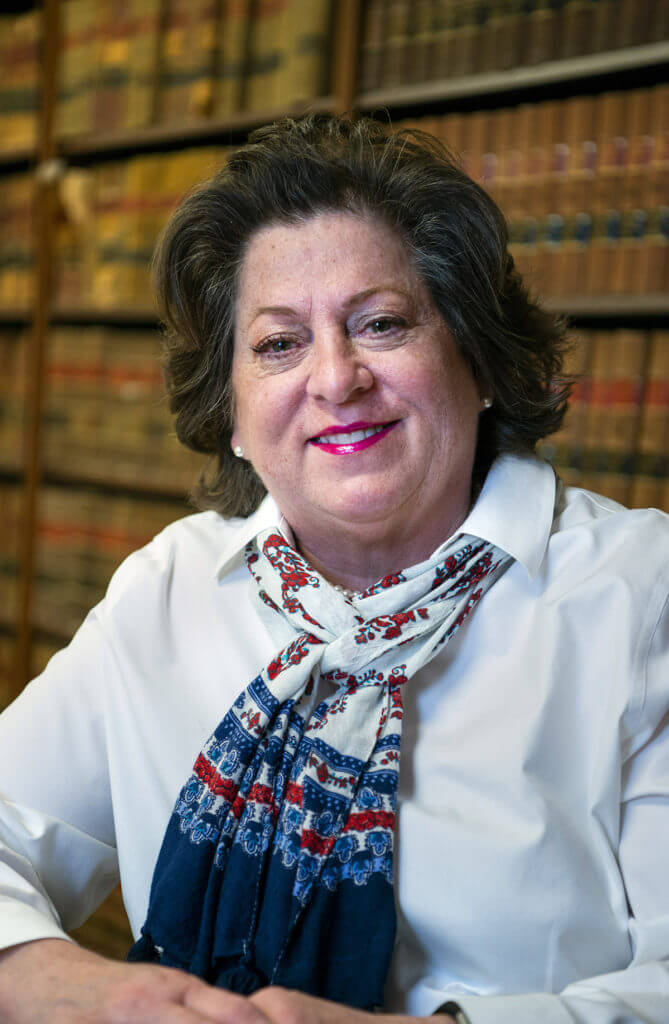 A photo of Waynesville, NC paralegal, Laura Wehking. Which works for real estate attorneys, Woodrow H. Griffin and Brian P. Schaefer.